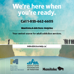 Manitoba Addictions Helpline 1-855-662-6605
