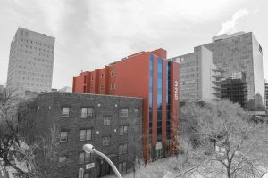 SRWC Red Building