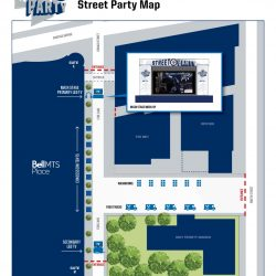 Street Party Closures and Reroutes